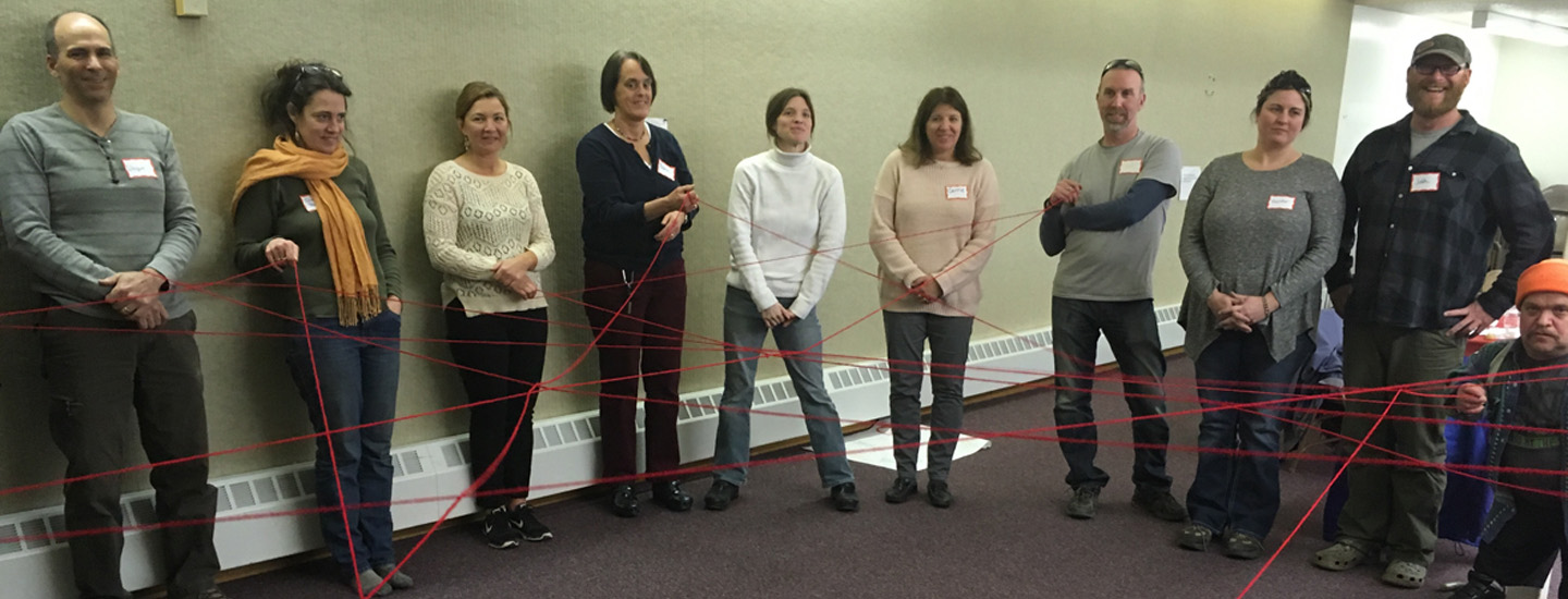 Community members create a Web of Support.